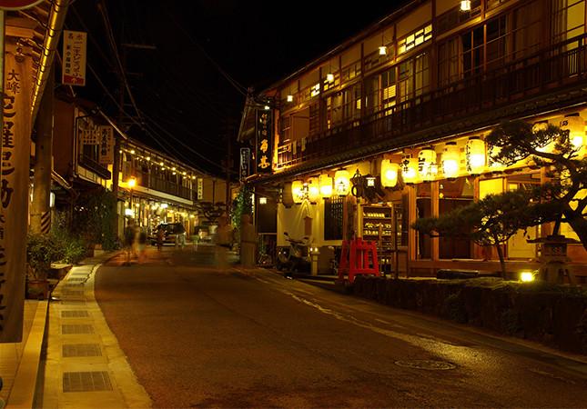 洞川温泉街
