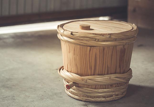 吉野の樽丸製作技術