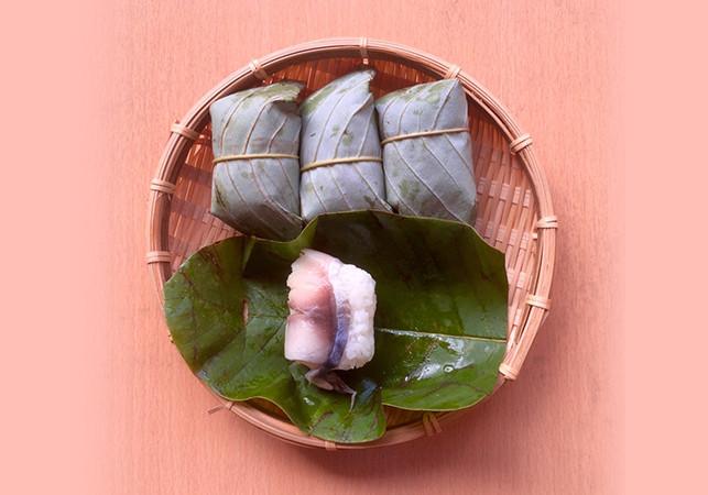 朴の葉寿司